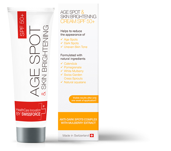 AGE SPOT SPF50+ BY SWISSFORCE<sup>®</sup>