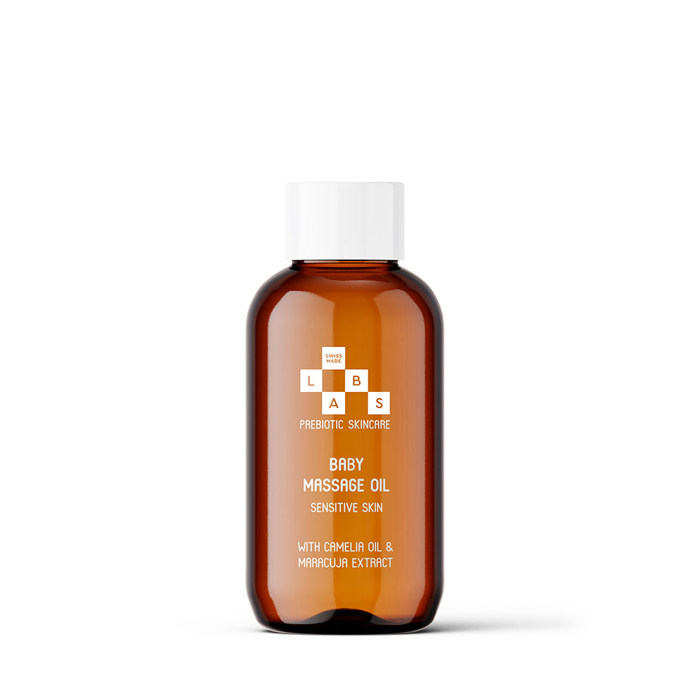 SWISSMADELABS<sup>®</sup> <br>Baby Massage Oil 100 ml